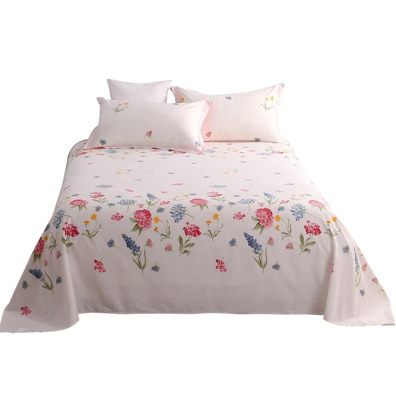 谷蝶韩式纯棉单件双人被单米床单质量怎么样