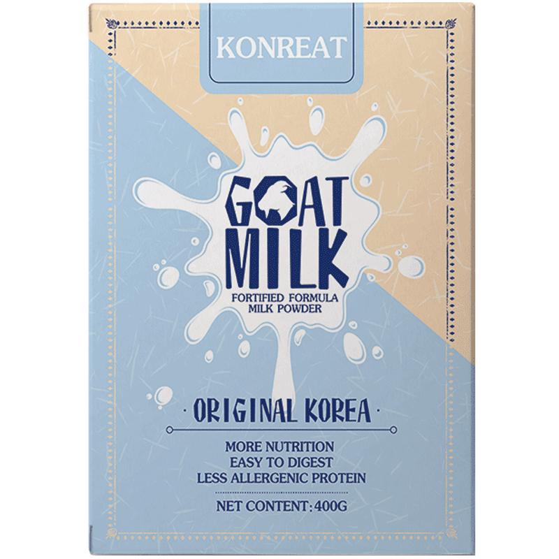 韩牧优原装进口全脂山羊奶粉成年