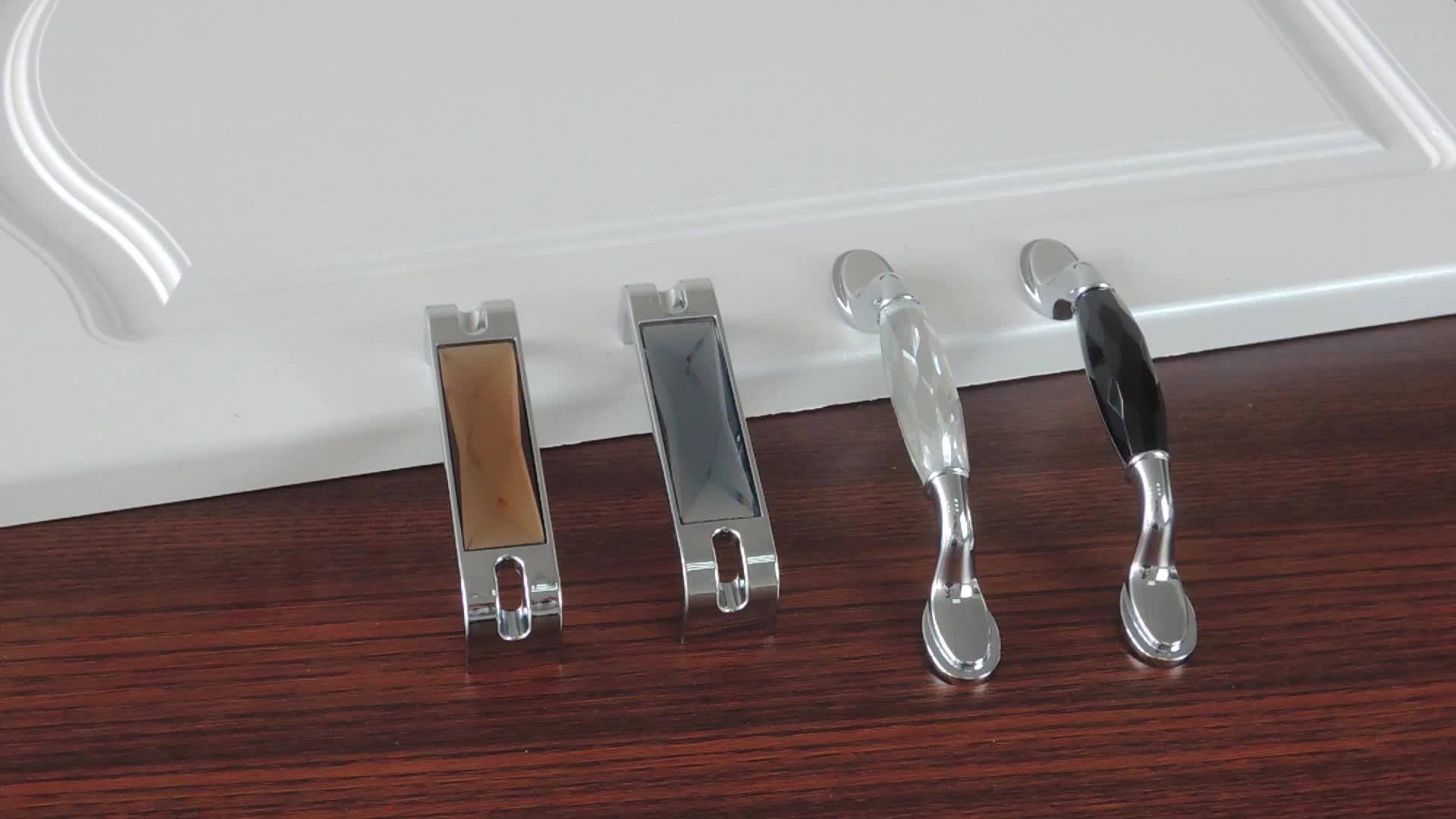 kitchen furniture accessories wholesale hardware crystal handle CRY9999