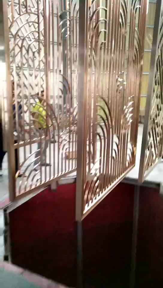Inexpensive Room Separators Exit Coper: Stainless Steel Metal Art Hanging Decorative Wall Panels