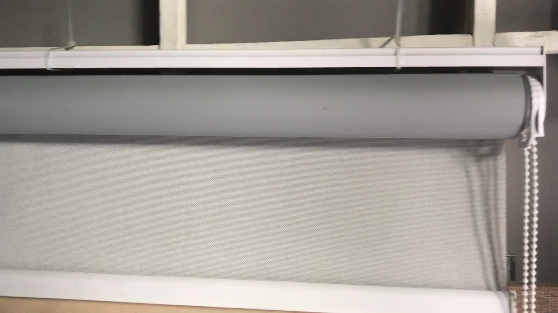 Лидер продаж индивидуальный дизайн роликовые оттенки/окна плотные ролик штора с аксессуарами