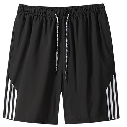 男士夏季冰丝运动休闲5五分7短裤