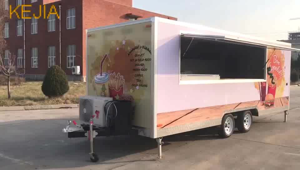 Mobile Coffee Trailer Sale Cart