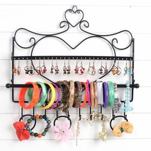 饰品架子挂发箍手镯项链耳环壁挂架