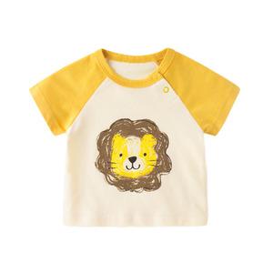 宝宝夏季纯棉夏装儿童童装半袖t恤