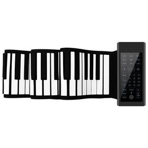 领【40元券】购买特伦斯手卷电子88键盘折叠入门钢琴