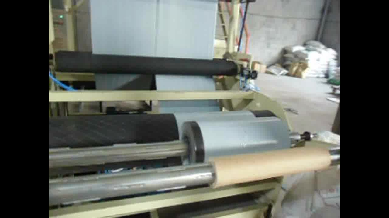 two layer co-extruding film blowing machine