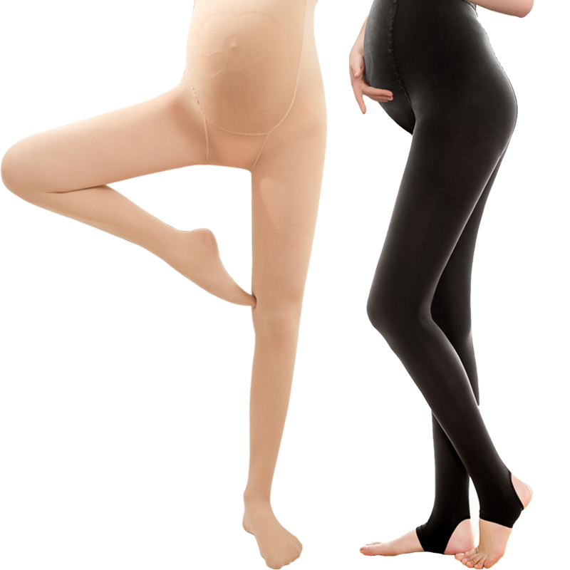 孕妇打底裤丝袜春秋款光腿神器怀孕期外穿薄款打底袜女连裤袜托腹