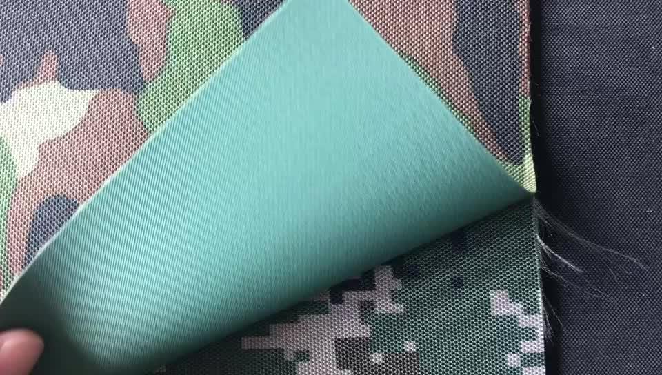 Jinyi DTY 600D geri dönüşümlü polyester baskılı özel kumaş baskı malzeme askeri dijital kamuflaj kumaş
