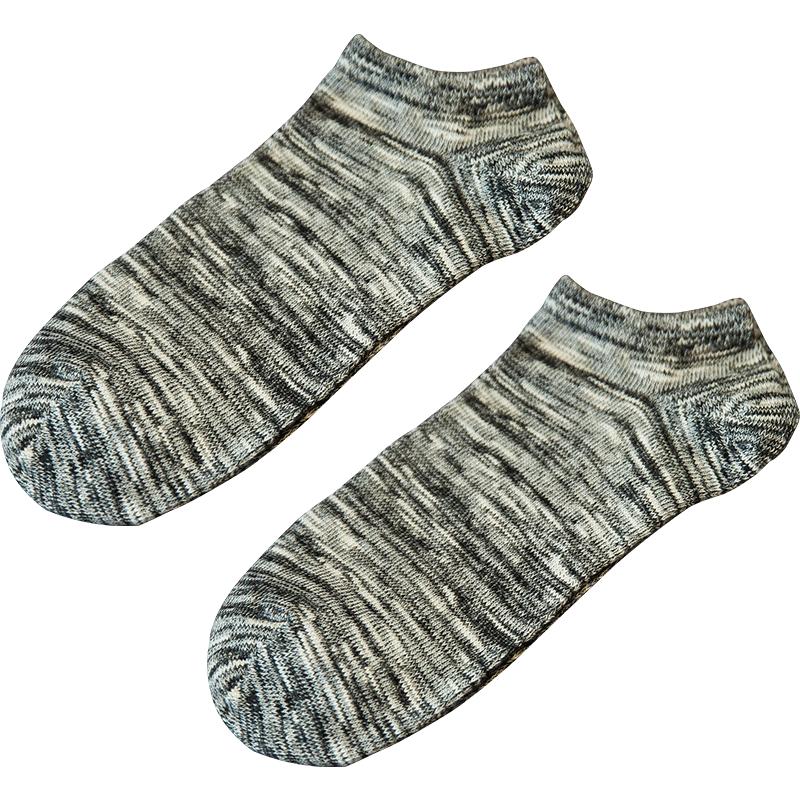 袜子男士纯棉短袜船袜男春夏季短筒防臭薄款低帮隐形袜浅口男袜潮