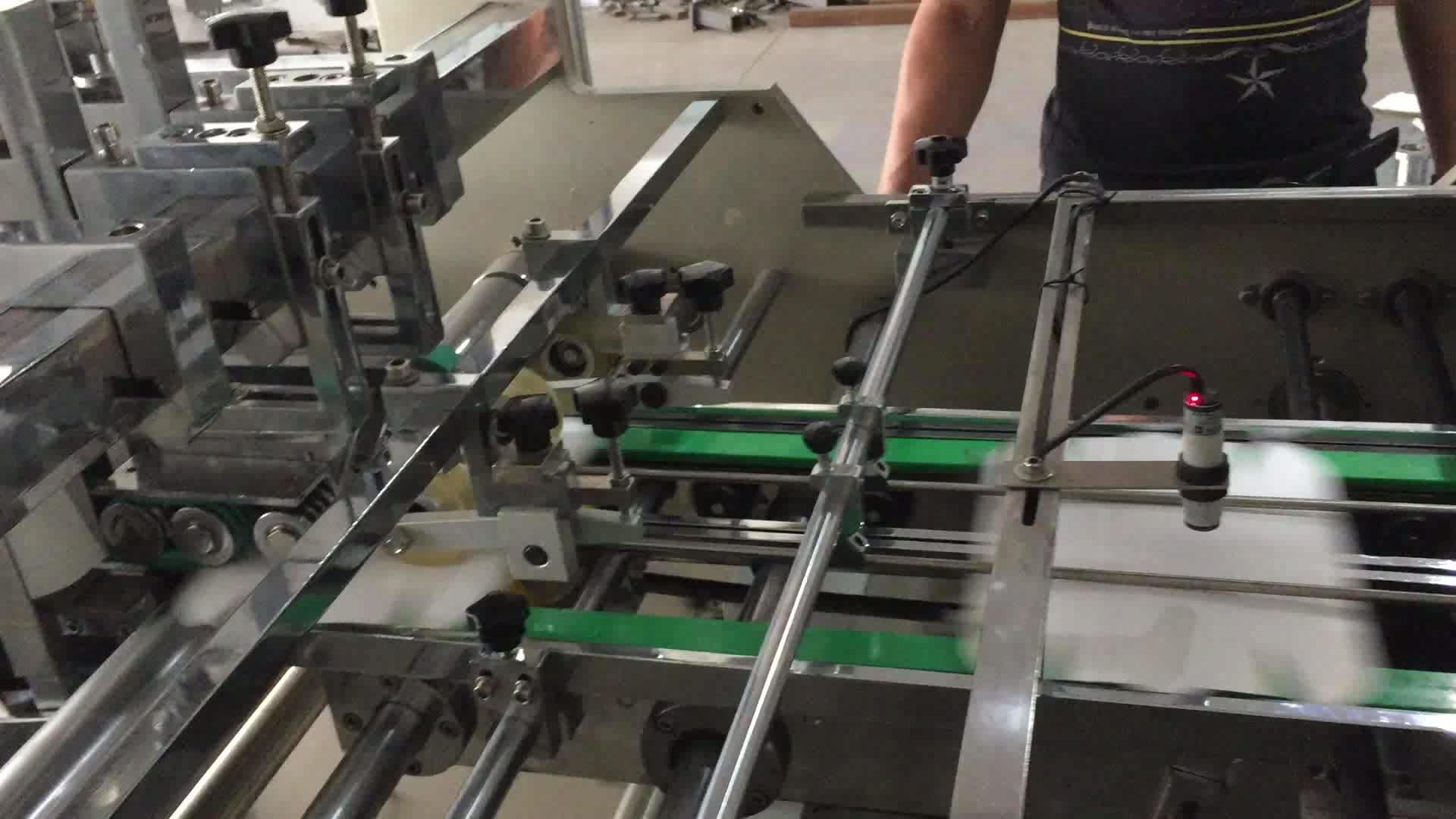 RTZF800 Automatic PE coated paper hamburger box forming making machine