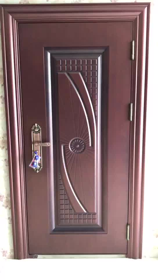 High Quality Exterior Doors Jefferson Door: High Quality New Design Security Steel Main Door Design