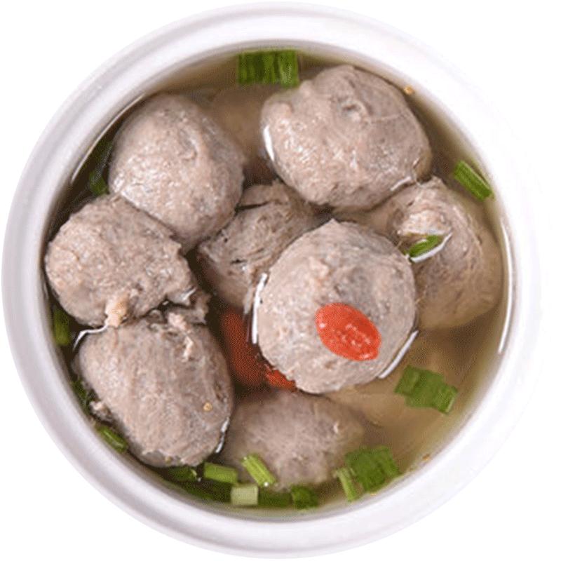 【唐人基】牛肉丸130g*4袋 潮汕牛肉丸潮州汕头火锅食材