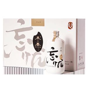 米客剑侠情缘糯米酒低度6度*果酒