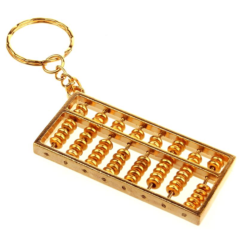 聚缘阁风水黄铜算盘挂件摆件钥匙扣好不好