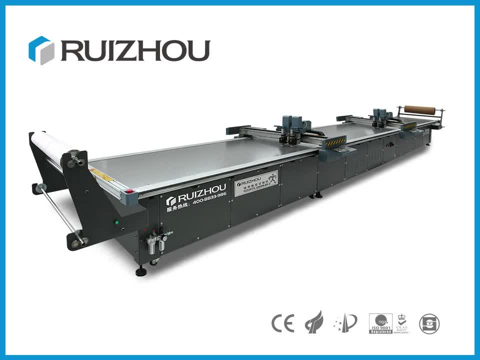 Computer Servo Automatic Round Knife Cloth Garment Cutting Machine for Large Garment Factories