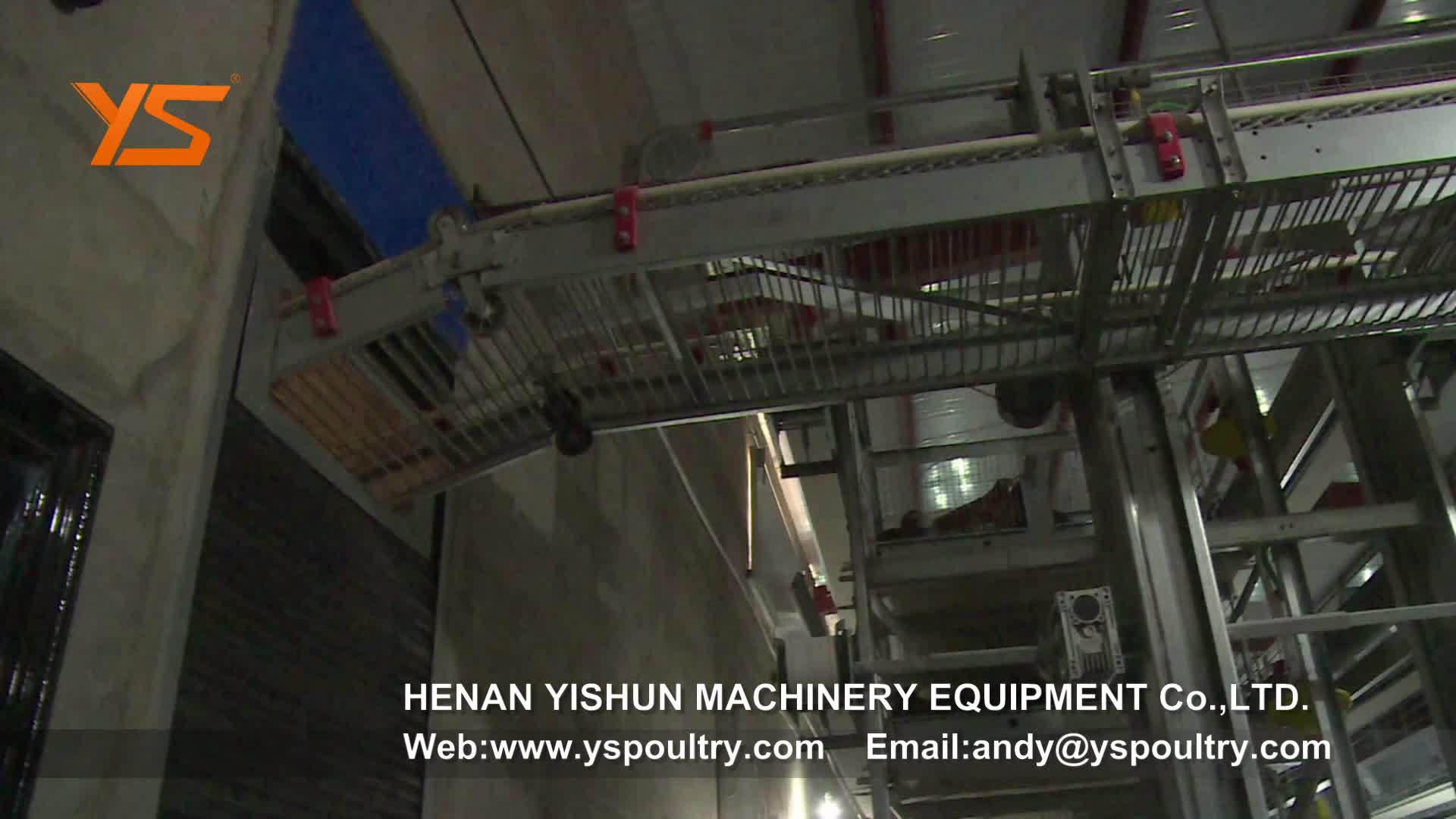 H Type Automatic Chicken Breeding Cage Layer Cages for Sale