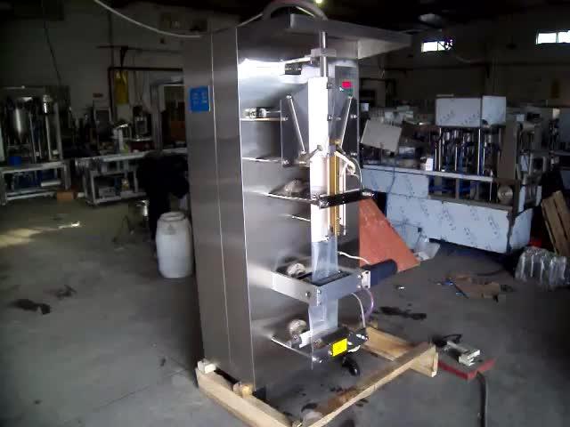 factory price automatic water pouch packing filling machine