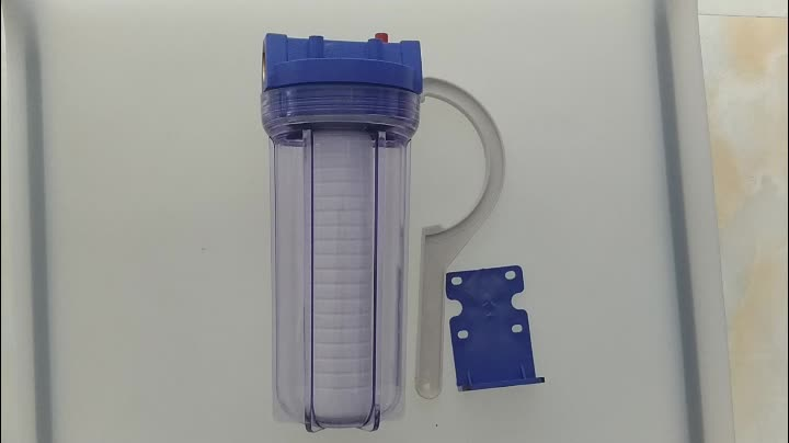 """10"""" water filter housing clear pure aqua life filter water"""