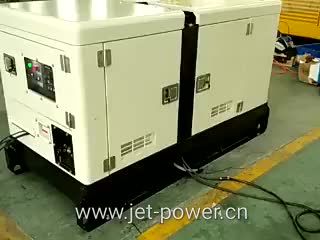 Deutz air-cooled engine silent type diesel generator 12kw 20kw 24kw
