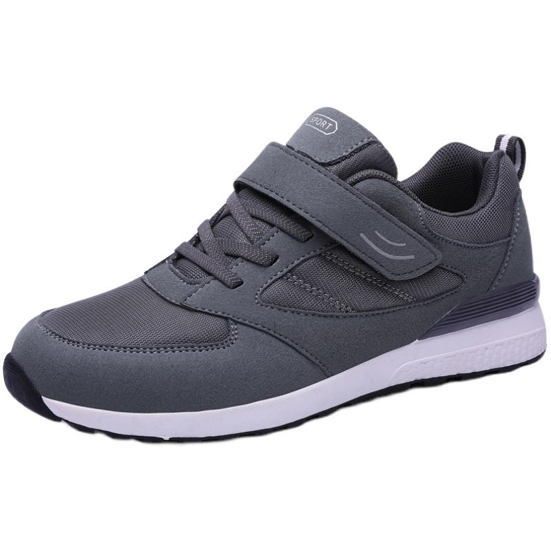 足力中老年健步男春秋爸爸鞋运动鞋质量如何