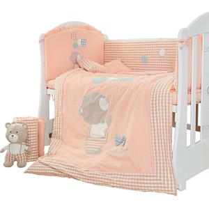 月亮船婴儿床纯棉宝宝围栏围挡床围