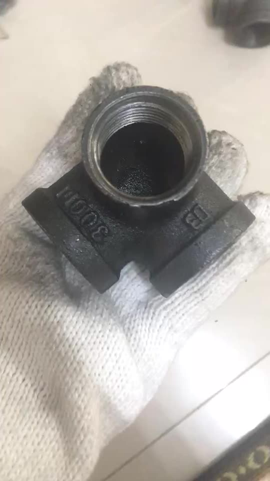 how to connect galvanized pipe