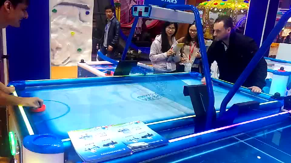 Amusement game machine coin operated luxury air hockey table