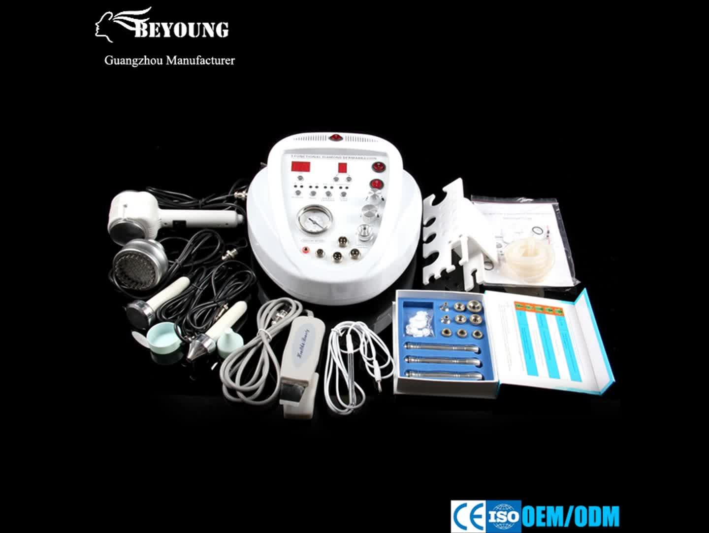 5 1 다이아몬드 박피술 Ultrasoud 및 피부 스크러버 핫 & 콜드 망치 광자 치료 BD-909