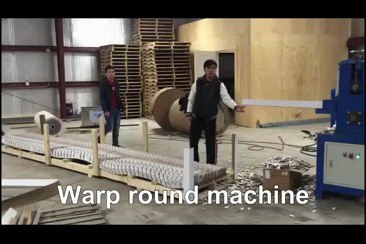 Newest Design Paper Wrap Round Coil Edge Protector Making Machine