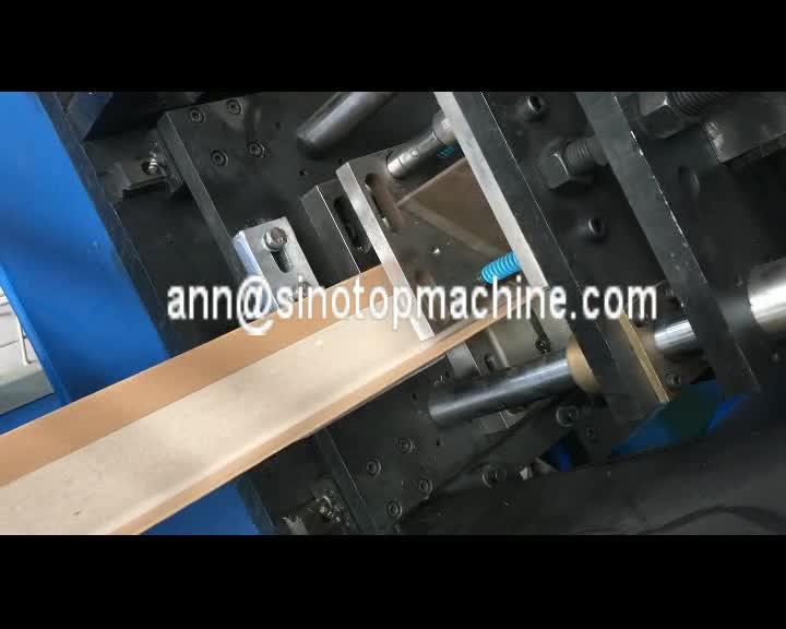 2019 Hot Sale CE Approved Paper Edge Protector Machine