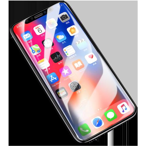 闪魔 iPhoneX钢化膜11Pro苹果X全屏全覆盖iPhoneXR蓝光7/8plus手机XR抗摔promax贴膜iphoneXsMax全包8防摔XS