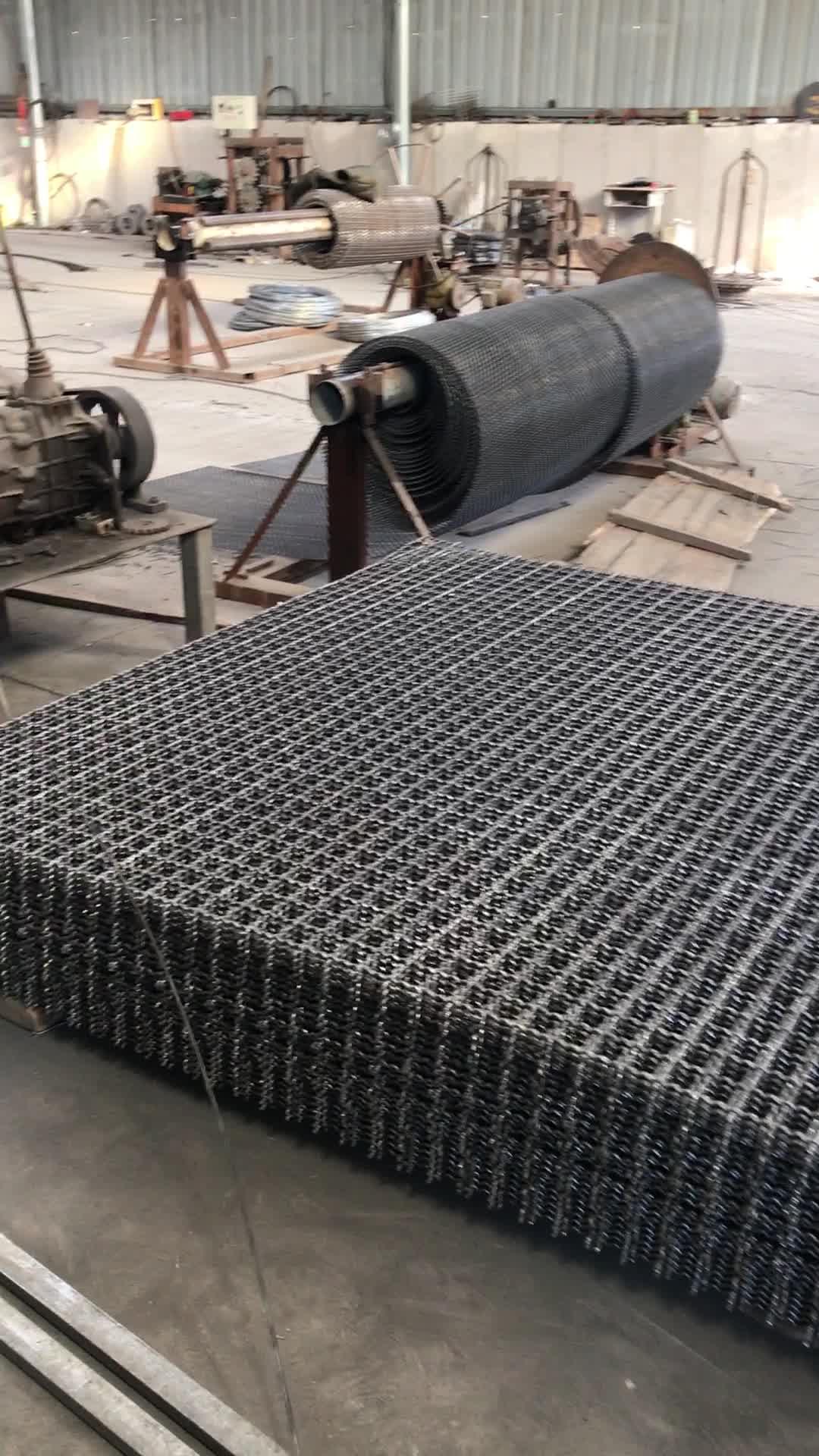 Alibaba Trade Assurance Stone Crusher Mesh ( High Tensile Steel Wire ...