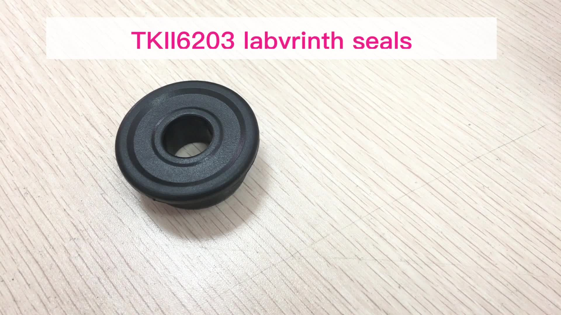 Chinese Manufacturer bearing plastic labyrinth seal TKII/TK2 type 6203