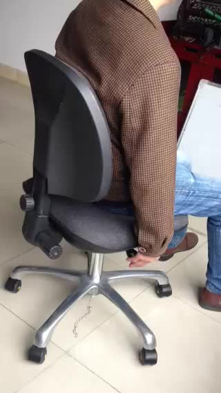 Shenzhen Maxsharer ESD lab chair esd leather stool esd chair 3 parts adjustable