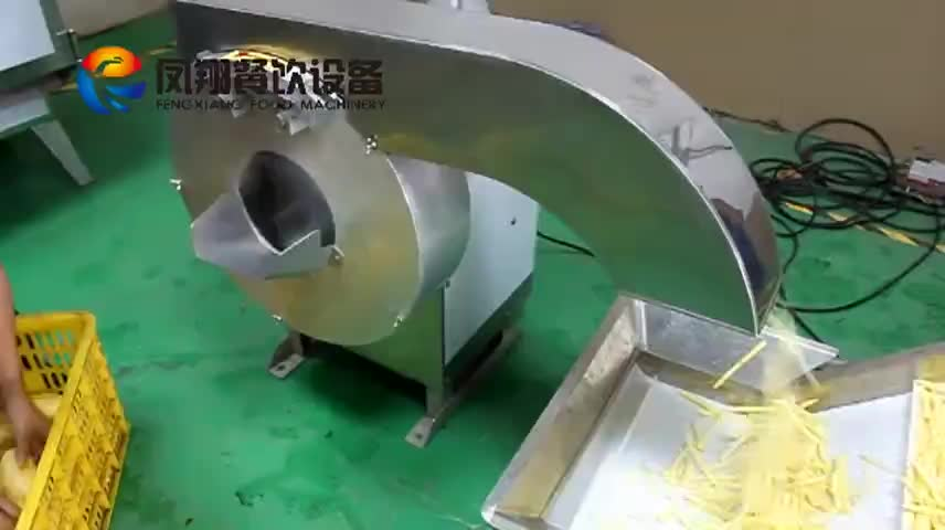 Factory Price Potato Chips/French fries Washing cutting weighting Production Line