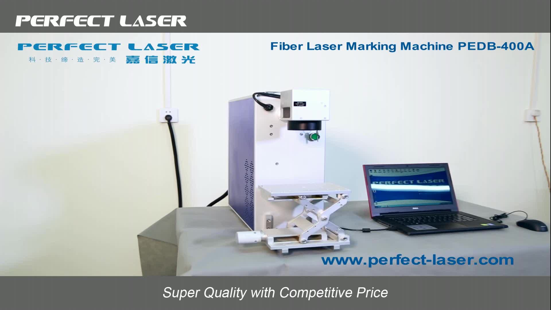 Perfect Laser Best Quality 10W 20W 30W Portable Mini Optical Fiber Laser Marking Machine