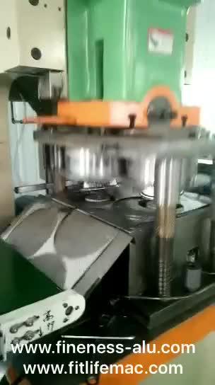 High Accuracy Aluminium Foil Container Making Machine