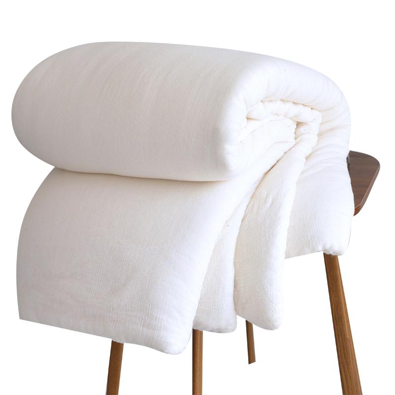 新疆手工加厚保暖床垫纯棉花被子好不好
