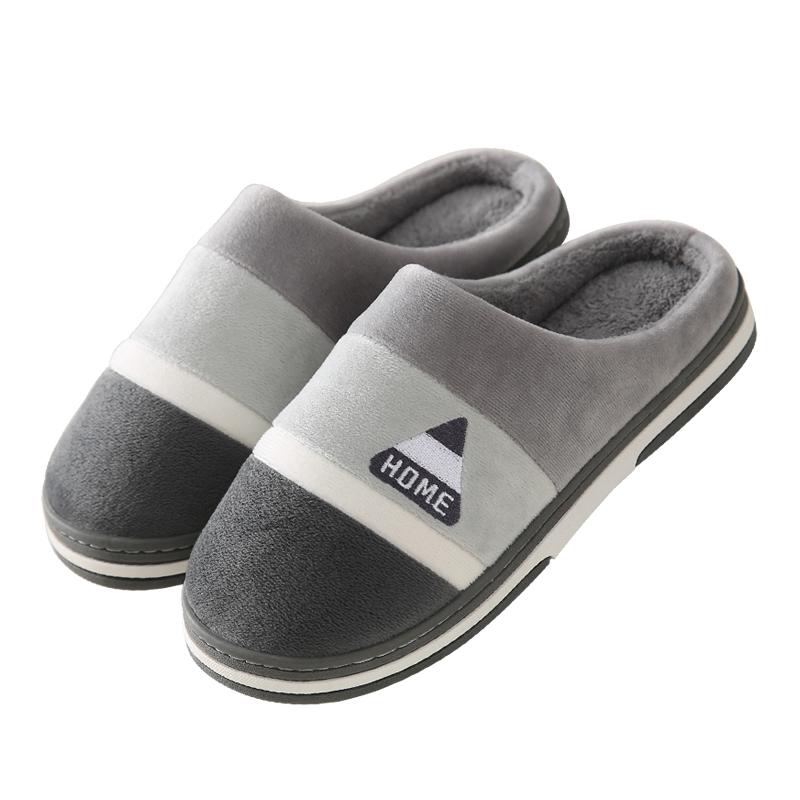 男士棉拖鞋秋冬季厚底包跟室内家居评价如何