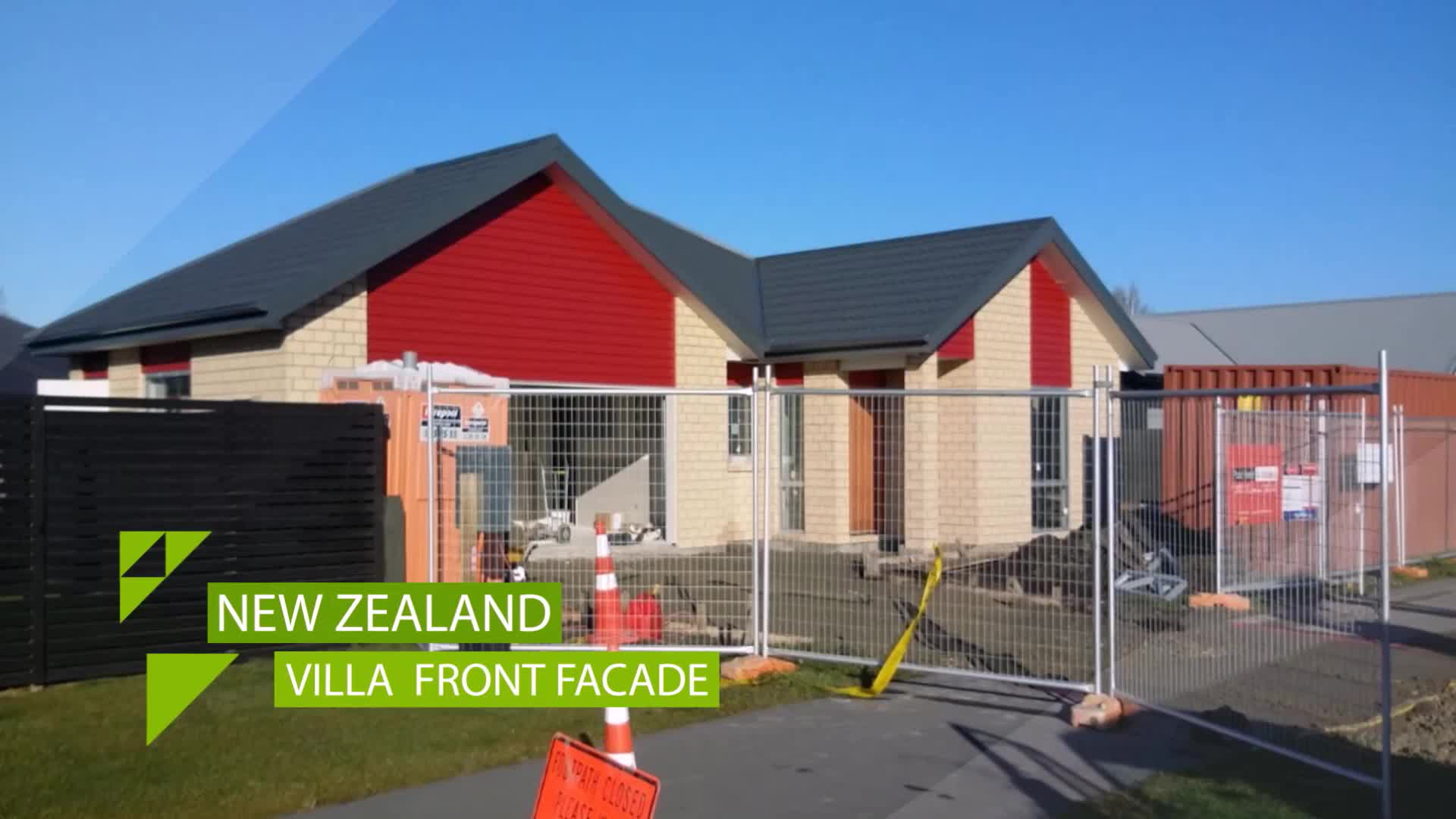 Modular new zealand low cost prefab duplex villa buy for Estimated cost building duplex