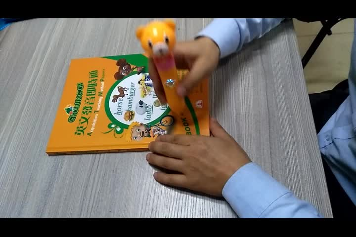 Hardcover Growing Up kids learning english word speaking phonics books