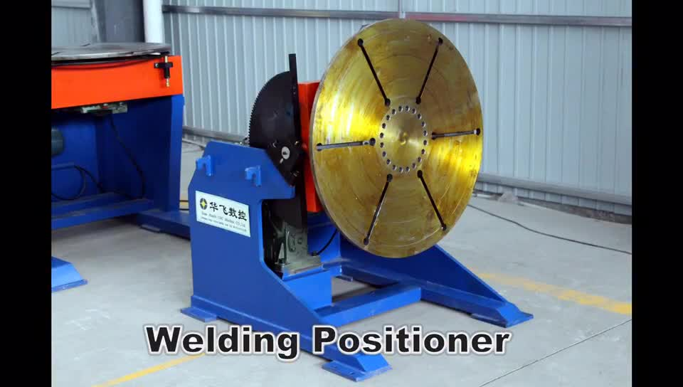 Heavy Duty Seat-type Welding Turning Positioner Along With Rotation
