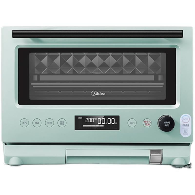 美的微波炉一体家用变频智能蒸烤箱怎么样