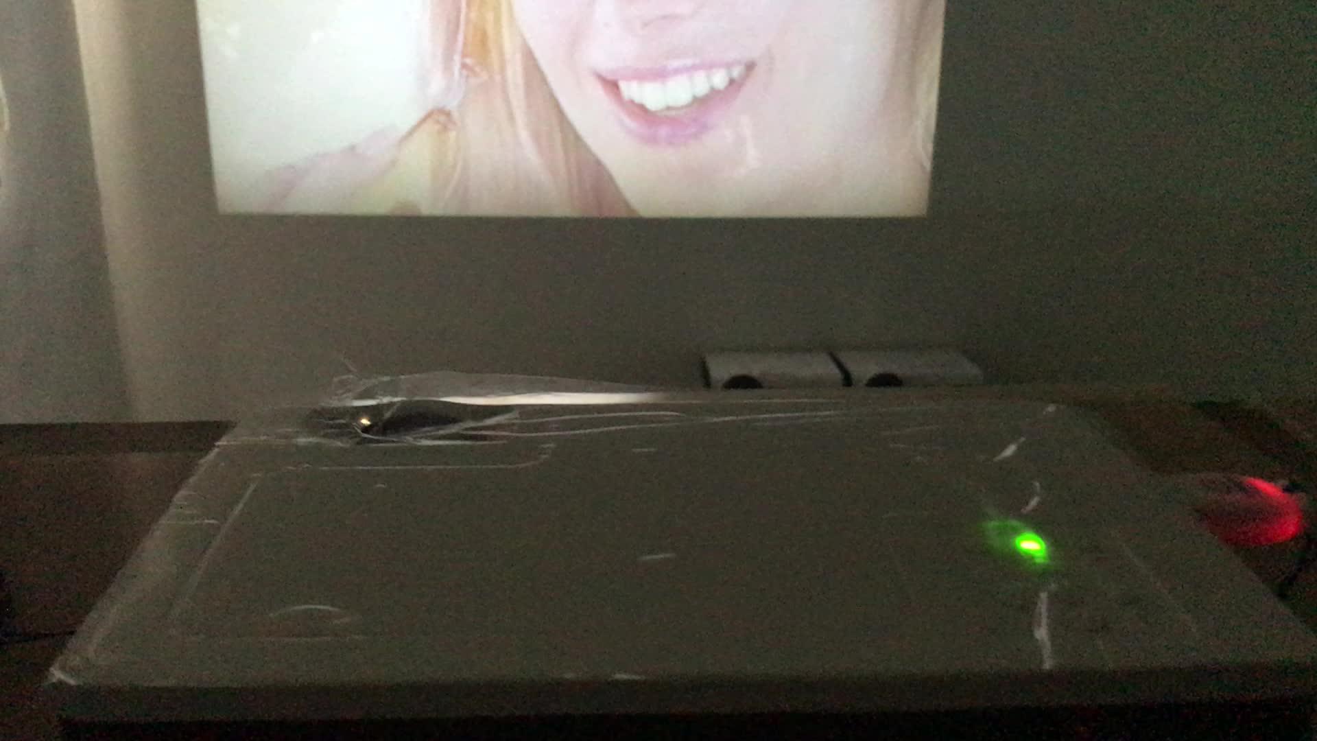 Prezzo più basso mini proiettore home theater hd led intelligente android video proiettore