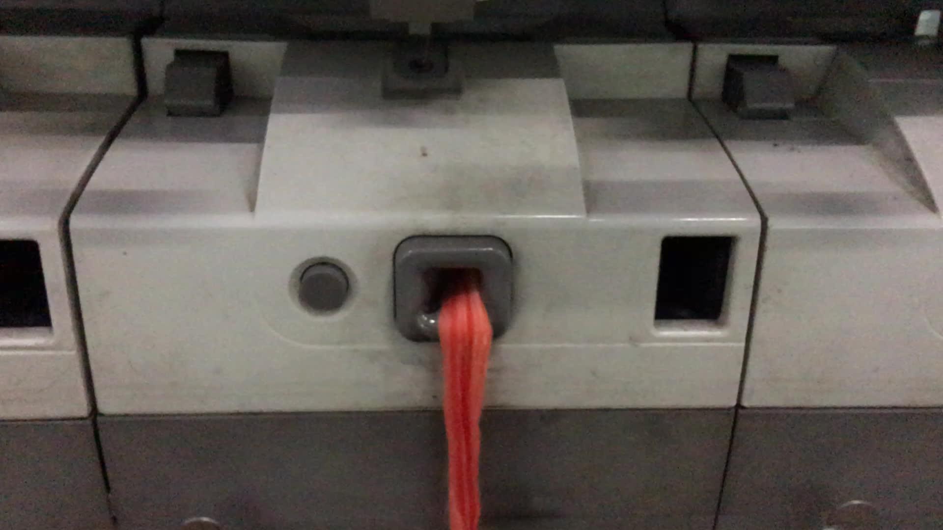 100% バージン cotton dyed 開放端メランジュ糸編機用と織り生地 OE ブラザーズ糸