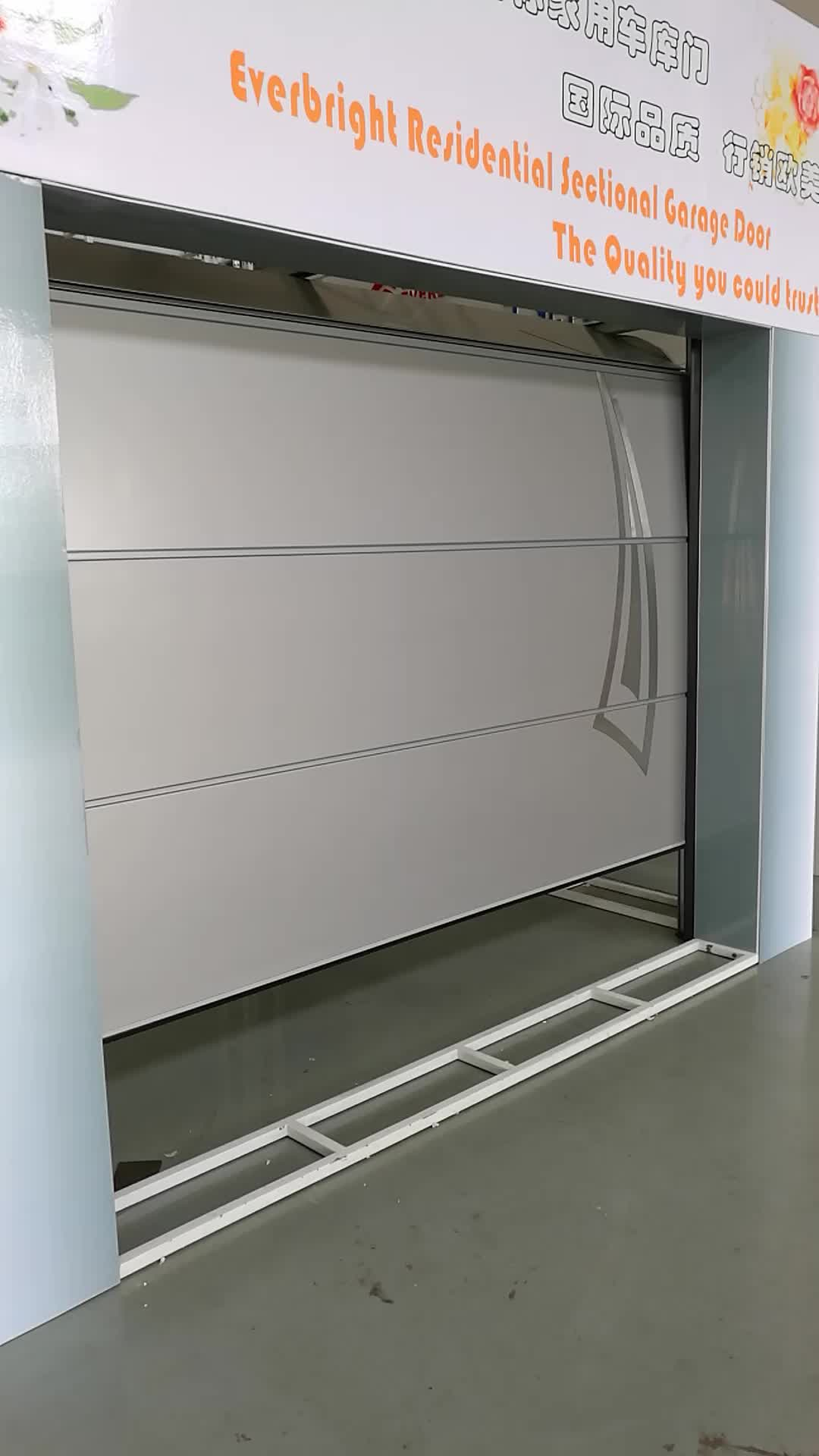 Sectional Garage Doors Product : Overhead sectional garage door with windows insert buy
