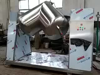 V Type Mixer Machine for blending powders and granules