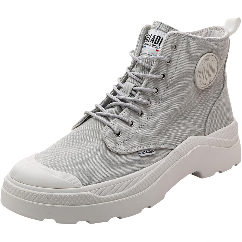 palladium帕拉丁潮流高帮小白鞋好不好