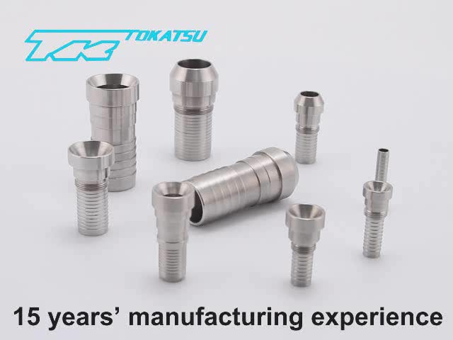 ALIBABA Gold Supplier OEM Stainless Steel Hydraulic Hose Connector